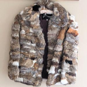 70's Vintage Genuine Fur Coat by Montgomery Ward